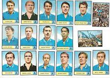 Calciatori Mira 1966/67 - lotto set  17 figurine Napoli con i 2 rari   tifosi