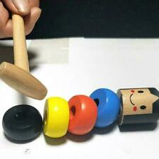 Halloween Funny Small Wooden Man Toy Unbreakable Little Pc 1 Puppet Toy F2I8