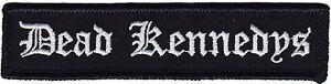 Tot Kennedys Schwarz und Weiß Schreiben Aufbügelbare / Zum Aufnähen Aufnäher (