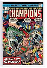 The Champions #3 FN/VF 7.0 (Feb 1976, Marvel) Assault On Olympus!
