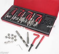 131PC HELICOIL THREAD/RETHREAD REPAIR KIT/SET M5 M6 M8 M10 M12 METRIC New HD Pro