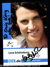 Lena Schöneborn TOP AK Orig. Sign. Moderner Fünfkampf +A 61848