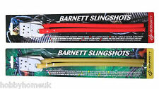 BARNETT SPARE SLING SHOT CATAPULT DIABLO BLACK WIDOW POWER BANDS NATURAL AND RED