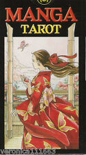 Manga Tarot NEW Sealed 78 Color Card Deck Oriental Fantasy Heroes Divination