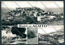 Frosinone Acuto Saluti da Foto FG cartolina D5349 SZD