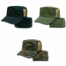 1 Dozen Bdu Fatigue Distressed Cadet Patrol Military Fitted Caps Hats Wholesale