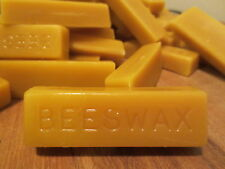 4 individual 1 oz BARS of 100% Natural Pure Beeswax. 4 oz total per order