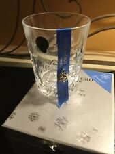2013 Waterford Snowflake Wishes Crystal Goodwill DOF Tumbler/Glass NIB W/Ribbon