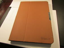 GearIt Samsung Galaxy Tab PRO 10.1 TABLET Folio Rotating Case COVER BROWN