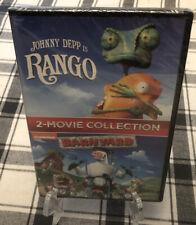 Rango / BarnYard (2 DVD Collection) Brand New