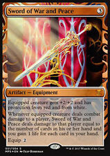 MTG SWORD OF WAR AND PEACE FOIL EXC - MASTERPIECE - KI - SPADA DI GUERRA E PACE