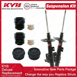 Front KYB Shocks Strut Mount Protection Kit for Holden Commodore Calais VE