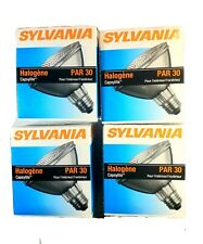 Sylvania Halogen Capsylite 50w Par 30 Light Bulbs Lot Of 4