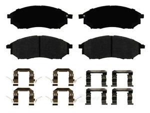 Frt Ceramic Brake Pads  Ideal Brake  TCD888