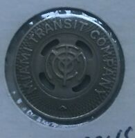 Miami Florida FL Miami Transit Co Transportation Token