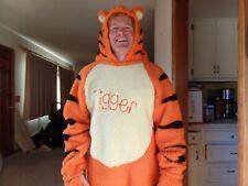 Adult Disney Store Winnie the Pooh and TIGGER Fuzzy Plush Full Body CostumeLg.