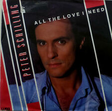 """7""""1986 NDW RARE M-! PETER SCHILLING All The Love I Need"""