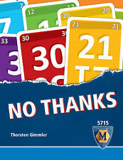No Thanks! Mayfair Games Edition Card Game English version of Geschenkt MFG 5715