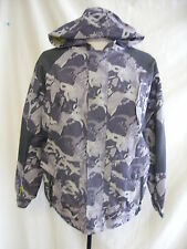 Boy's Jacket - Airwalk, age 13 years, greys/camouflage style, hooded, cool 7544