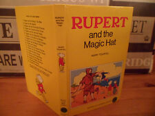 RUPERT AND THE MAGIC HAT - RUPERT LITTLE BEAR LIBRARY No.15, Children's, Vintage
