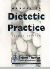 Manual of Dietetic Practice By Briony Thomas