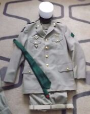 French Foreign Legion Caporal TDF blouson, trousers, tie and white kepi . Named
