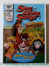 Disney Karaoke Sing Along Songs DVD Home On The Range and Other Classic Songs