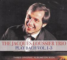 THE JACQUES LOUSSIER TRIO - PLAY BACH VOL. 1-3  (NEW SEALED 3CD)