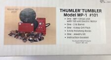 Thumler' Tumbler Rock Tumbler w/Electric Motor