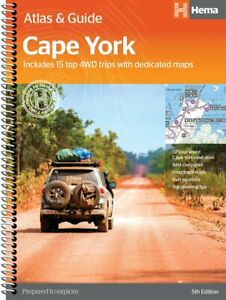 Cape York Atlas & Guide - 5th Edition - 15 Top 4WD Trips Explored - Hema