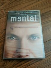 MENTAL THE COMPLETE FIRST SEASON Medical Mystery TV Drama Series 4 DVD SET NEW