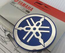 Yamaha 100% Genuino 55 mm diapasón Pegatina Azul/Plata calcomanía emblema insignia