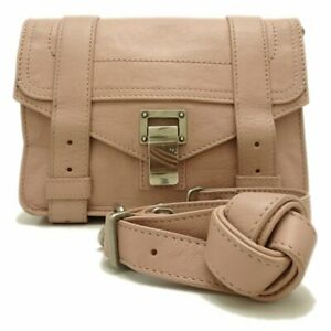 PROENZA SCHOULER PS1 Mini Crossbody Bag H00338L001E Leather Light Pink /056997