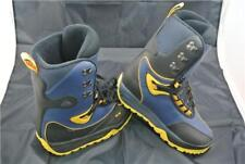 NIKE AIR MERU SNOWBOARD BOOTS 8 UK BLACK/BLUE/YELLOW ACG LIMITED EDITION