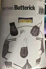 Renaissance Accessory PATTERN Making History Butterick 5580 Medieval Bracers Bag