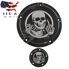 Burst Derby Timing Timer Skull Cover For Harley Breakout FXSB CVO 114 13-18 US