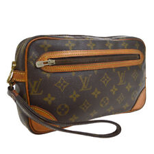 LOUIS VUITTON MARLY DRAGONNE CLUCTH HAND BAG PURSE MONOGRAM fvp M51825 30722