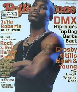 """DMX """"ROLLING STONE MAGAZINE"""" PROMO POSTER FROM 2000-Hip Hop's Top Dog Barks Back"""