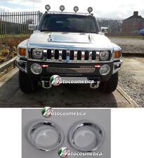 Cover cornici in abs cromo fendinebbia paraurto anteriore Hummer H3 nebel fog
