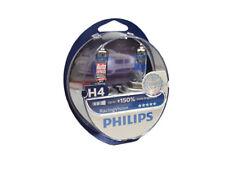 Philips RacingVision H4 bis zu 150% mehr Licht Halogenlampe 12342RV+S2 Duo 2 er