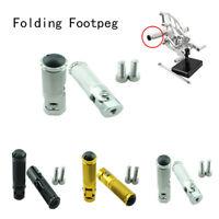 CNC Folding Footpeg Foot peg Pedal For Triumph Aprilia BMW Honda Kawasaki