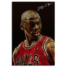 Майкл Джордан крылья арт шелк постер 24 х 36 дюймов примерно 91.44 см