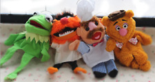 "3 Styles Disney The Muppets Kemit Fozzie Bear Animal Plush Toys Puppets 12""/30cm"