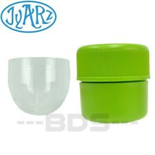 Green Jyarz Chico Storage Container Glass BPA Free USA -Made Herb Jar