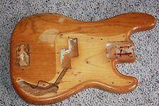 1973 1974 1975 Fender Precision bass body original natural 5 lb 8 oz