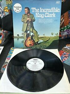 ROY CLARK VINYL the incredible roy clark LP RARE WHITE LABEL PROMO Rocky Top '71