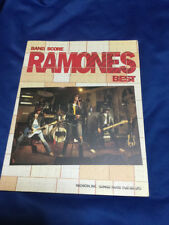 Ramones Band Best band score Guitar tab  Blitzkrieg Bop Beat on the Brat Pinhead