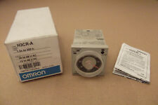 OMRON H3CR-A SOLID-STATE TIMER 1.2 s to 300 h, 24 to 48 VAC, 12 to 48 VDC NEW
