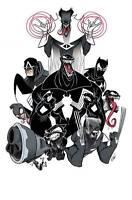 Venomverse #1 Gustavo Duarte 1:50 Incentive Variant Cover Marvel 2017
