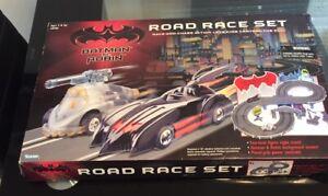 1997 Vintage Kenner BATMAN & ROBIN Slot Car Road Race Set Mr. Freeze